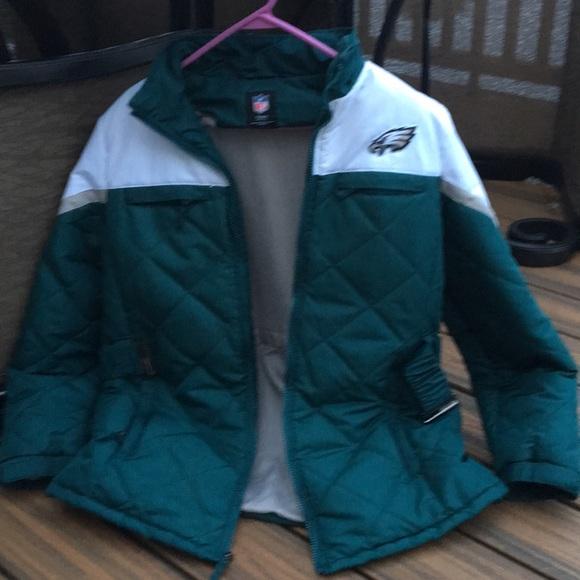 buy online b760e 2b7ea NFL TEAM Womens Philadelphia EAGLES coat